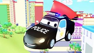 Tốt nhất Đội xe tuần tra : xe cứu hỏa cùng với xe cảnh sát và xe cứu thương ở thành phố xe 🚓 🚚