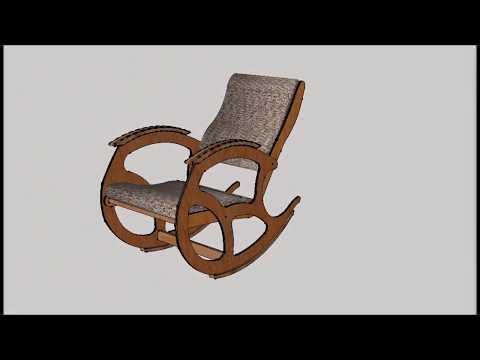 Кресло качалка своими руками на ютубе