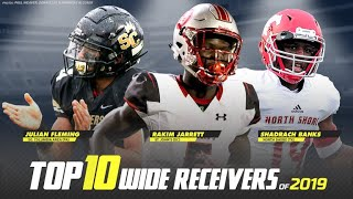 Top 10 Wide Receivers in High School Football