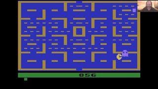 Lukozer Retro Game Review - 539 - Pac-Man - Atari 2600 (VCS)