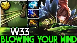 W33 [Windranger] Blowing Your Mind One Ultimate Kill Pro Mid 7.22 Dota 2