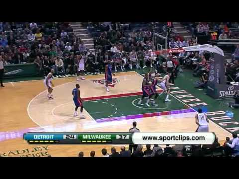 NBA Detroit Pistons Vs Milwaukee Bucks Highlights Jan 30, 2012 Game Recap