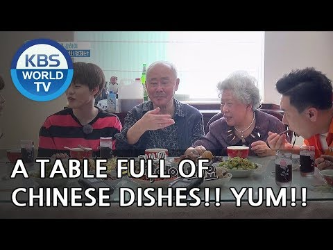 Lunch with Chenle's grandparents! [One Night Sleepover Trip/ 2018.06.12]