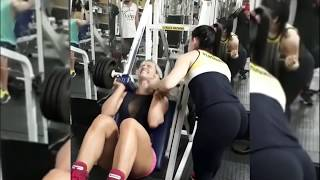 Funny Girls workout fails at gym | Try not to laugh - NEW Best fails ever