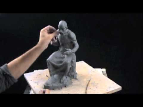 Clay sculpting tutorial - Plato