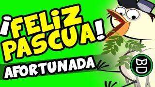 FELIZ PASCUA. [Paloma De La Paz] Semana Santa.Tarjetas De Humor. Divertidas. Deseos