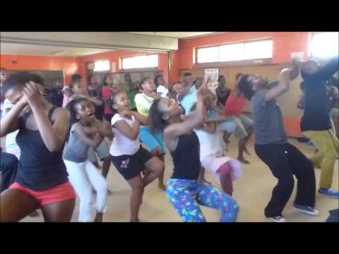 The Khayelitsha Kids African Dance Class with Bheki Ndlovu in Cape Town South Africa