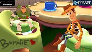Toy Story 3: The Video Game - PSP Gameplay 1080p (PPSSPP)