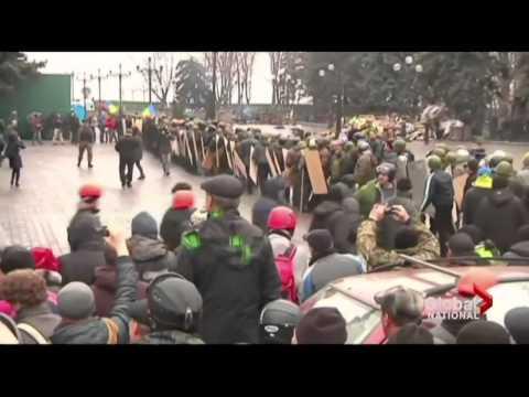 Ukraine President Yanukovych leaves Kyiv, protesters take control of capital