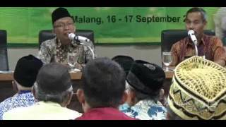 KH.Drs.Chamzawi : Pemimpin Yang Amanah