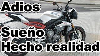 Review Venta de la moto de mis sueños Triumph Street Triple 765 R
