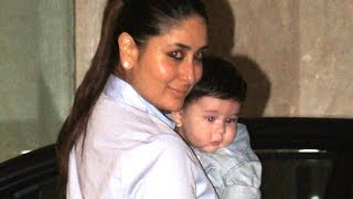 Taimur Ali Khan & mom Kareena Kapoor ATTEND party TOGETHER
