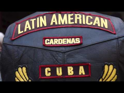 Scenes from Association of Latin American Motorcyclists gathering in Cuba