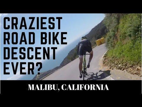 Craziest road bike descent ever? Phil Gaimon rides Tuna Canyon in Malibu
