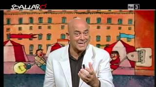 Ballarò - MAURIZIO CROZZA: ''Immaginate Berlusconi ai servizi sociali'' 10/09/2013