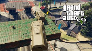 GTA 5 Online PC | RPGS VS INSURGENTS | INSANITY