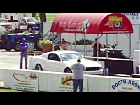 Ford Mustang Cobra Jet Testing at Milan Dragway!