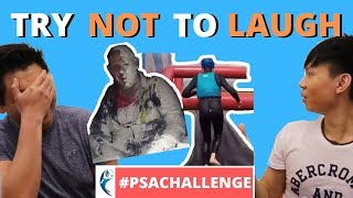 #PSAChallenge | Try to Watch This Without Laughing or Grinning #002