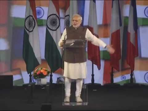 Narendra Modi in Paris: India is not begging but demands the permanent seat in UN security council