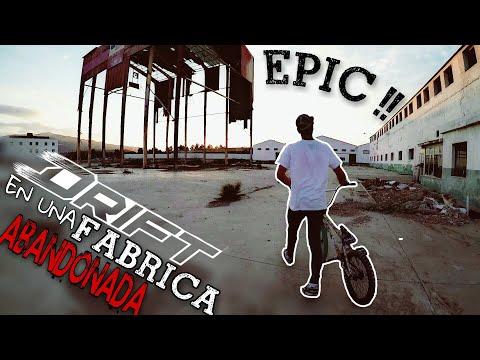 ¡¡ BMX DRIFTING en una NAVE en RUINAS !! 😫💨