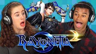 BAYONETTA 2 (Teens React: Gaming)