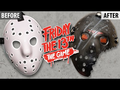 Making a Friday The 13th 2017 Video Game Hockey Mask. Almost made a critical error on this one. Thanks for watching, please share if you like it! https://www.patreon.com/bighush.