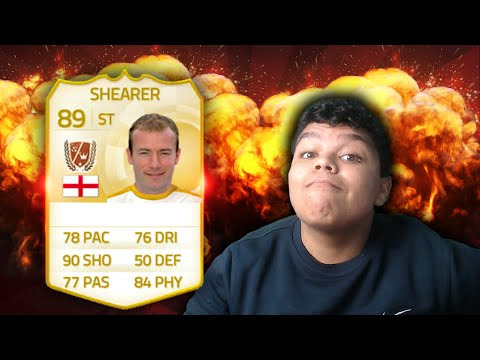 NEW LEGEND ALAN SHEARER IN PACKS!! - FIFA 15