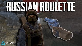 RUSSIAN ROULETTE IN VR - PAVLOV VR FUNNY MOMENTS
