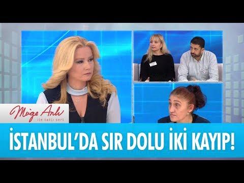 İstanbul'da sır dolu iki kayıp! - Müge Anlı İle Tatlı Sert 12 Ocak 2018