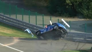 VW FunCup Spa 25 Hours 2018 - Crash and Action