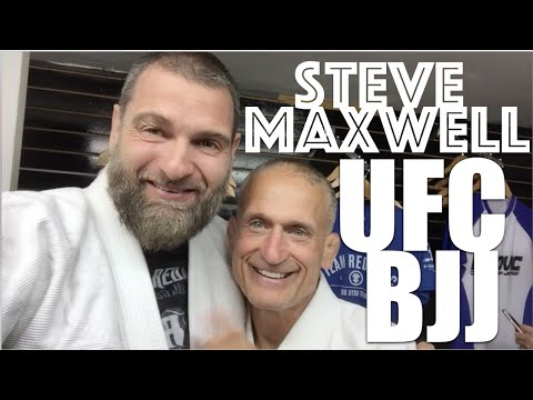 Steve Maxwell Fighting,Fasting,Food,Cancer,Drugs,UFC & BJJ
