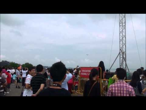 Singapore Airshow 2012 Full Video Demonstration HD 1080p