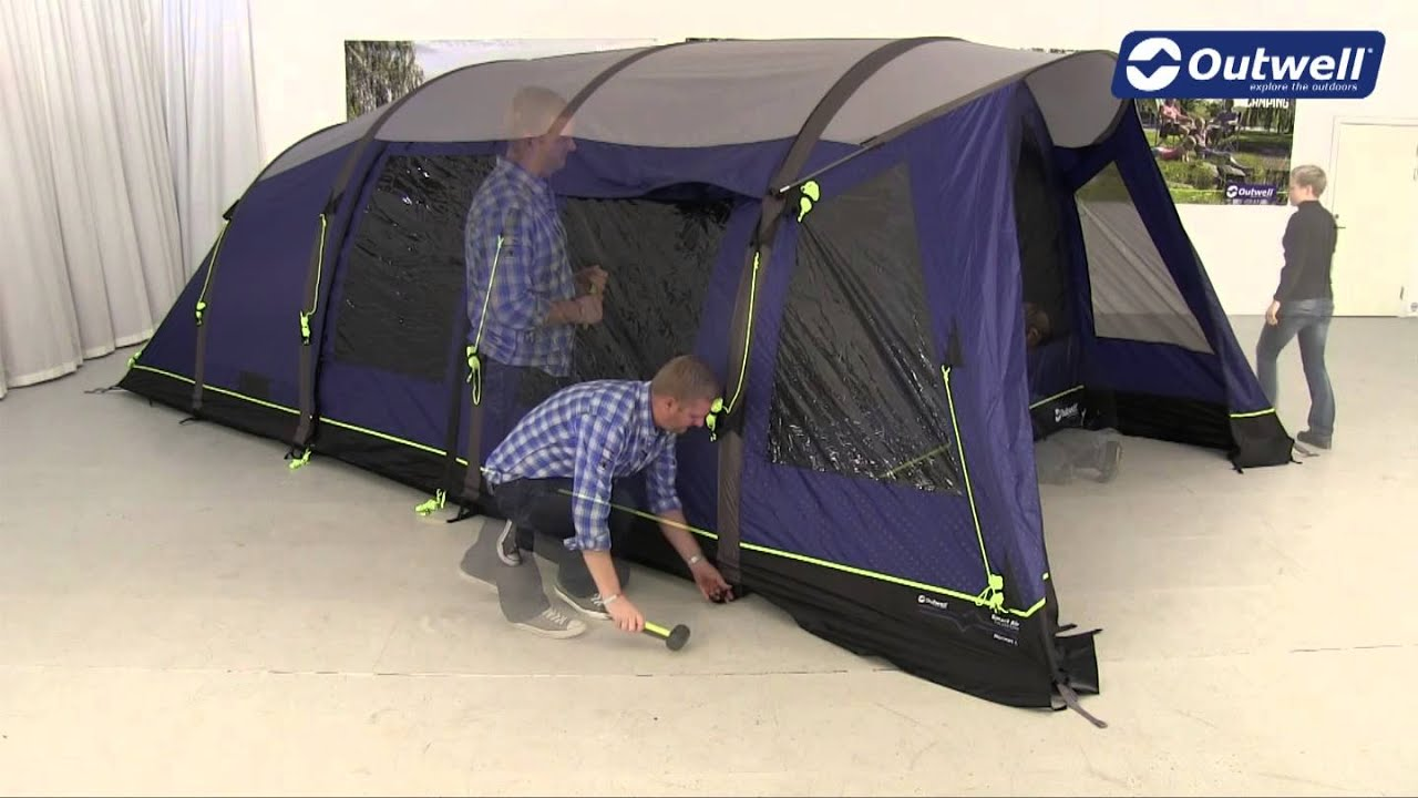 Outwell Hornet L Tent Pitching Video (2014)  YouTube
