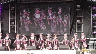 Fresno Hmong New Year 2018: Cute Little Girls Dancing #2