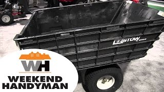 Arnold EZ Stow Trailer Fast Folding Easy Storage: By John Young of the Weekend Handyman
