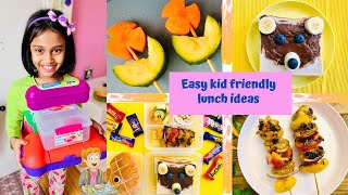 Easy kid friendly lunch ideas | kids meal Prep recipes