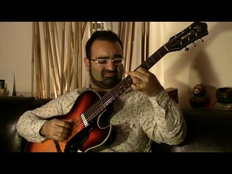 Fingerstyle Jazz Guitar Violets For Your Furs