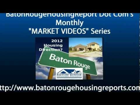 East Baton Rouge Real Estate Home Sales Market Videos Aug 2011 vs Aug 2012