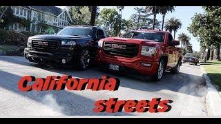When Texans bring Their trucks to Cali