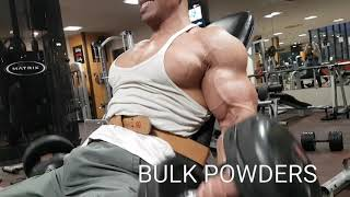 Mr.world Anand Arnold biceps workout session