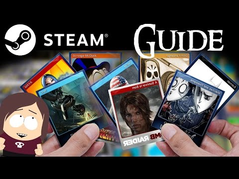 Welcome to Steam || The Basics of Steam Trading Cards, Badges, and Steam Levels Guide
