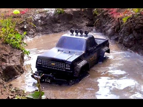 Rc Adventures - Ttc 2012 - Eps 3 - Swamp Run - Scale 4x4 Truck Challenge video