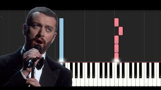 Download Lagu Sam Smith - Too Good At Goodbyes (SLOW EASY PIANO TUTORIAL) Gratis STAFABAND