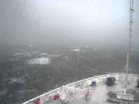 Dramatic typhoon muifa on Costa Classica Cruise.avi
