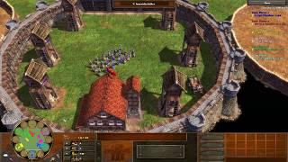 Age of Empires III Multiplayer - Cheater im Colloseum [Deutsch/HD]