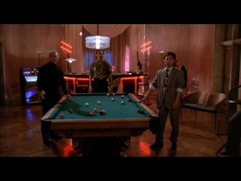 Hard to Kill - pool table scene