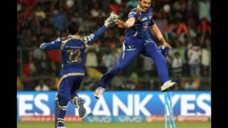 Royal Challengers Bangalore v Mumbai Indians, IPL 2016, Bangalore, May 11, 2016