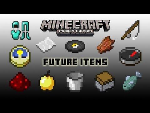 Minecraft PE- Future Items