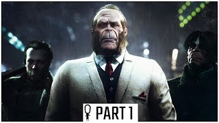 The SINKING CITY - Part 1 - Throgmortons and Innsmouthers - Let's Play Gameplay Walkthrough