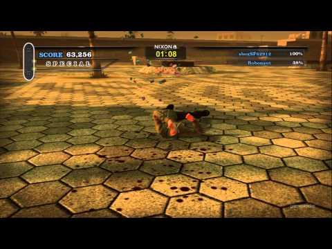 Tony Hawk Pro Skater HD Demo Multiplayer